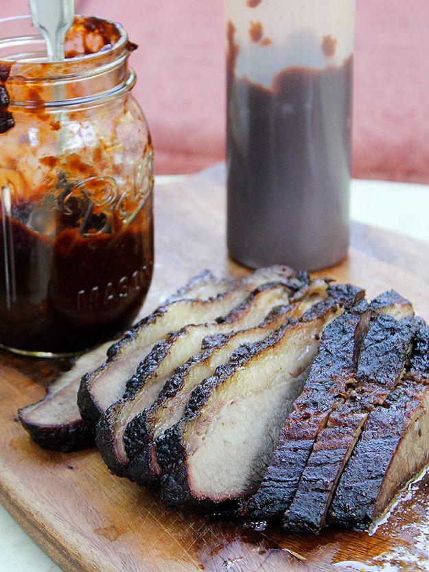 Ideas de recetas de cerdo BBQ hechos en casa | http://artesaniasdebricolaje.ru/diy-recipes-bbq-ideas/
