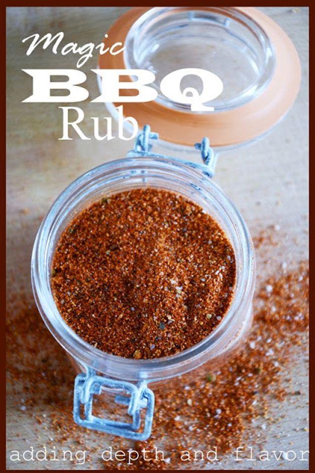 Recetas Rub BBQ hechos en casa | http://artesaniasdebricolaje.ru/diy-recipes-bbq-ideas/