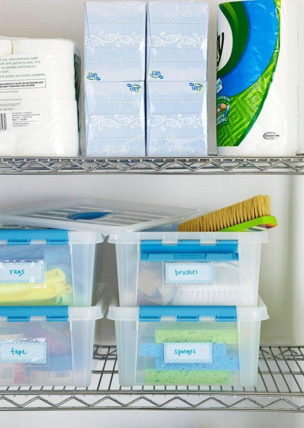 Fácil almacenamiento y organización Soluciones - 49 Brilliant Garaje Organización consejos, ideas y proyectos de bricolaje