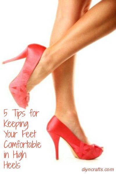 5 Consejos para mantener sus pies cómodos en Tacones lejanos