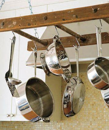 Fotografía - 5 upcycled Pot Racks y Almacenamiento Artículos para cocinar Ideas