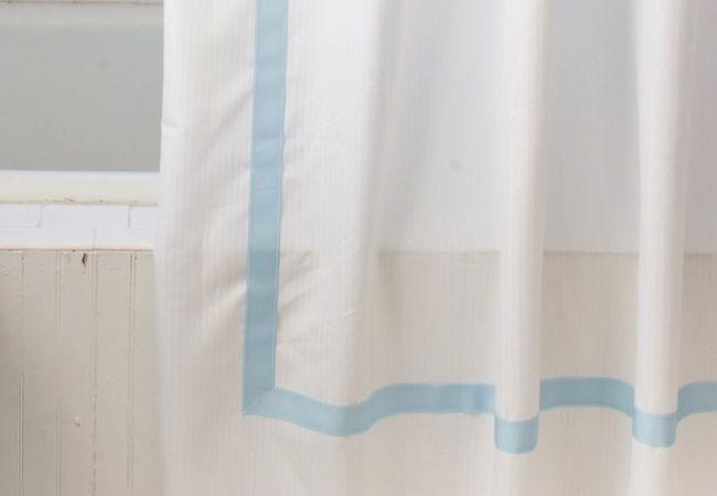 Cómo hacer una cortina de ducha - cinta