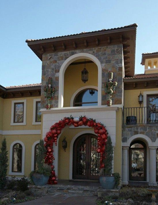 Ir Negrita - 60 bellamente festivas maneras de decorar su porche para Navidad