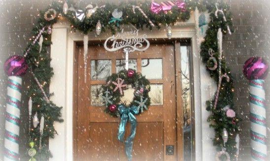 Norte Postes - 60 maravillosamente festivas maneras de decorar su porche para Navidad