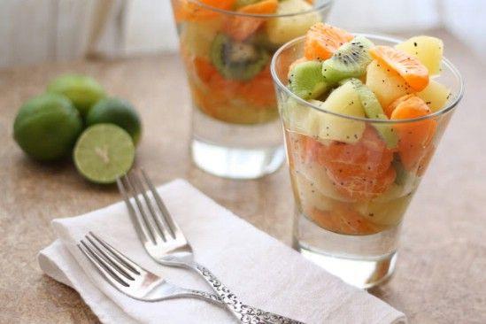 Key Lime ensalada y Miel Invierno