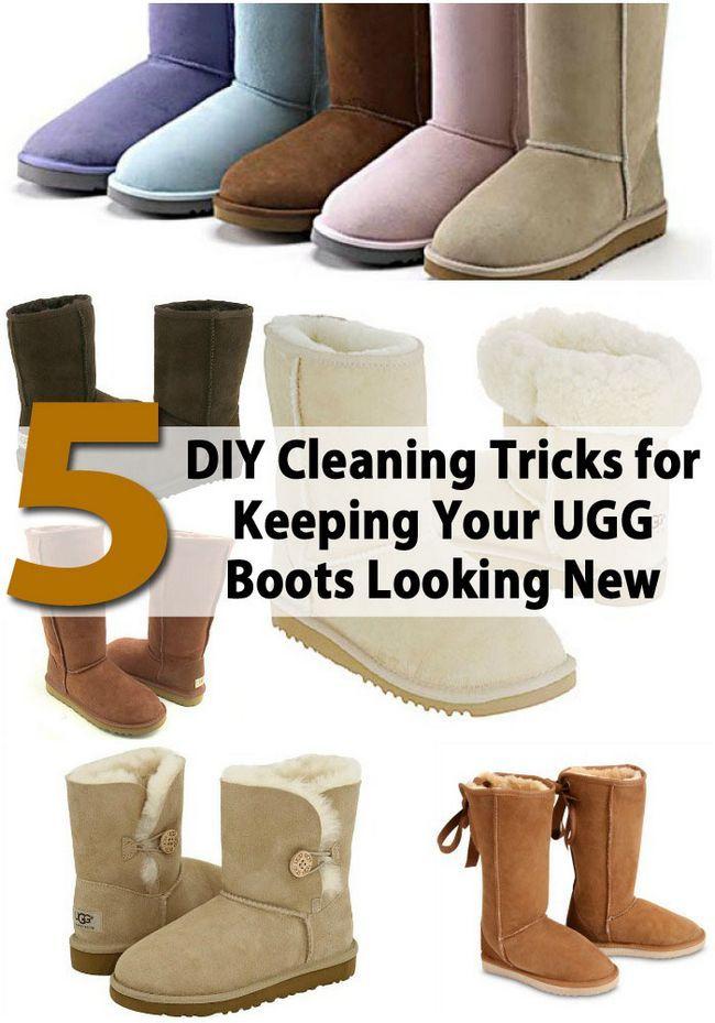 8 trucos de limpieza DIY para mantener sus botas UGG Buscando Nuevo