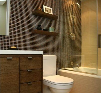 Fotografía - 9 consejos de diseño para maximizar Pequeño Diseño Baño