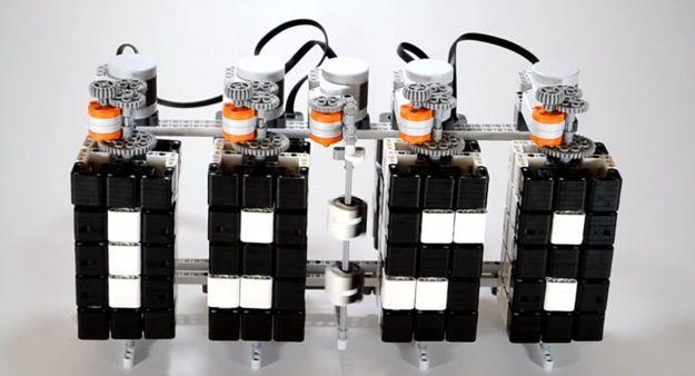 Enfriar Lego Mindstorms Proyectos | http://artesaniasdebricolaje.ru/9-diy-lego-mindstorms-ideas/