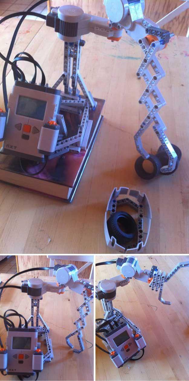 Diversión DIY Lego Mindstorm Ideas y Tutoriales | http://artesaniasdebricolaje.ru/9-diy-lego-mindstorms-ideas/