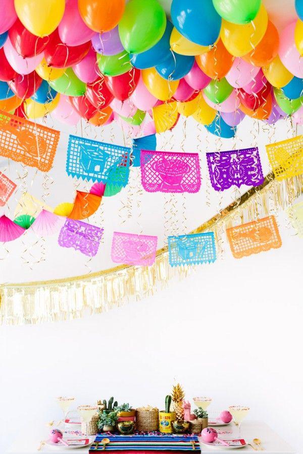 Fotografía - Un DIY Balloon Fiesta!