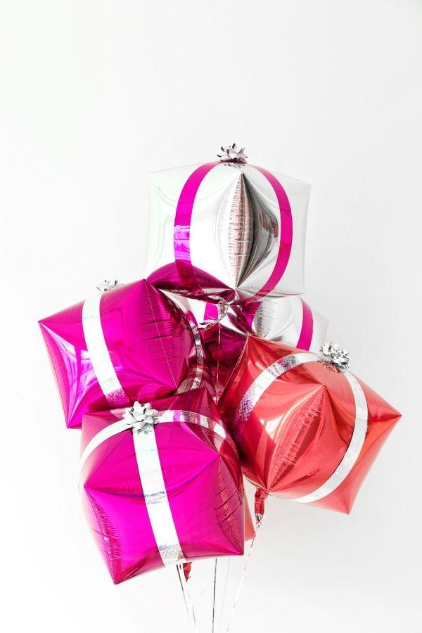 Fotografía - Un extras + del papel de regalo celebración de días festivos (+ Globos Presente DIY!)