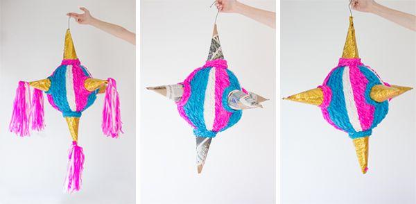 DIY Ombre Piñata