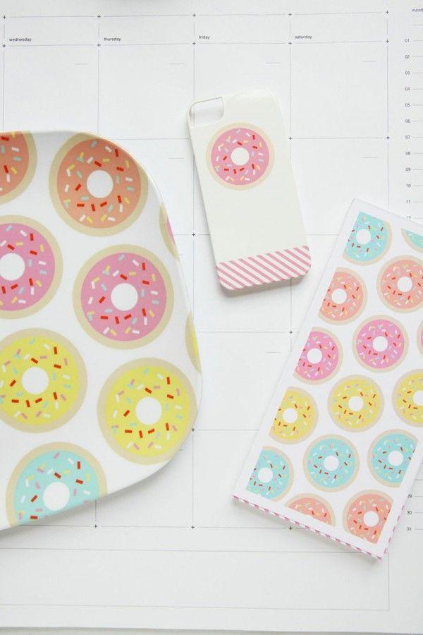 Donut caso del iPhone - Estudio DIY + Lápiz Virutas Estudio