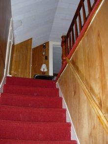 escaleras, revestimiento,