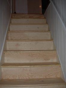 escaleras, pino, bandas, bandas de rodadura, escalera