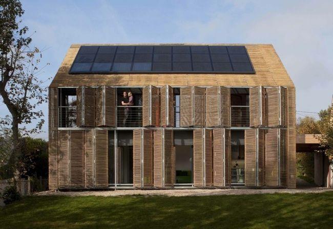 Fotografía - Ahorro de energía con estrategias agresivas de casa pasiva Diseño