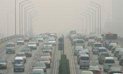 La contaminación del aire sobre Pekín