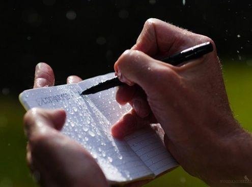 Fotografía - Todo Clima garabatos: Rite in the Rain