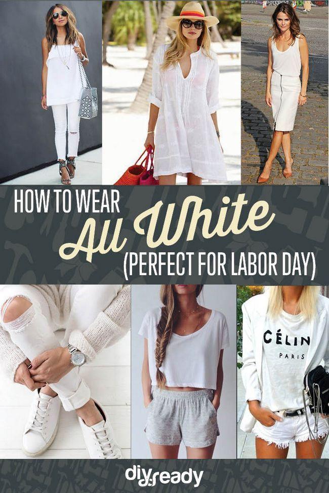Fotografía - Todos Trajes blancas para vestirte Antes del Día del Trabajo