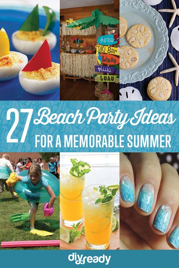 Fotografía - Increíble Ideas DIY Beach Party