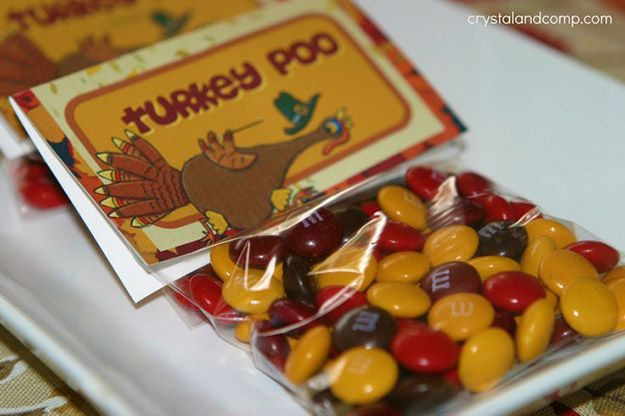 Turquía Poo Thanksgiving Craft | 17 de bricolaje de Acción de Gracias Manualidades para adultos, ver más a http://artesaniasdebricolaje.ru/amazingly-falltastic-thanksgiving-crafts-for-adults