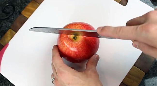 Una manzana al día mantiene alejado al médico: 5 de Apple rebanar Hacks ...