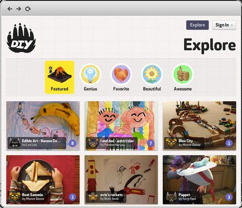 DIY.org para Niños