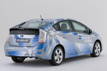 El plug-in de Toyota Prius vehículo programa de demostración híbrida