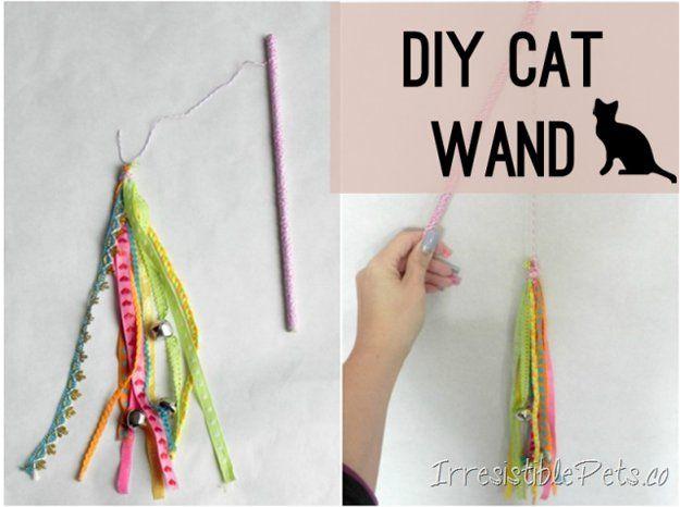 DIY Proyectos mascotas lindas para Gatos | http://artesaniasdebricolaje.ru/best-diy-pet-projects-to-keep-your-furry-friends-happy/