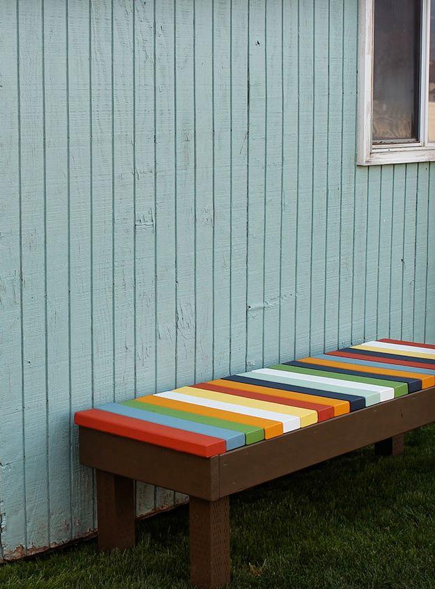Barato DIY Backyard Muebles para Niños | artesaniasdebricolaje.ru/diy-projects-backyard-furniture/