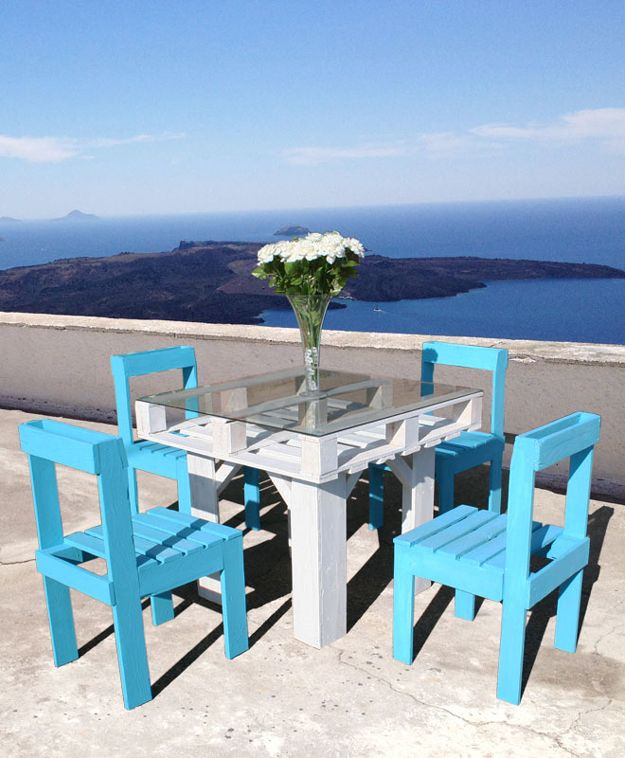Barato madera DIY del patio trasero de muebles Ideas | artesaniasdebricolaje.ru/diy-projects-backyard-furniture/