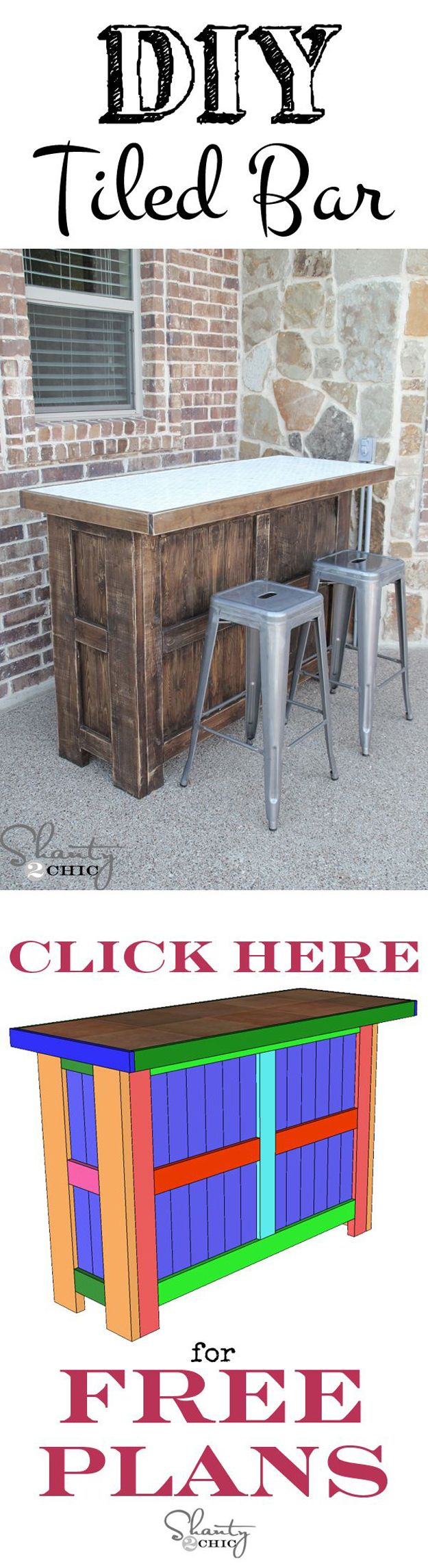 Hecho en casa Ideas del patio trasero de muebles | artesaniasdebricolaje.ru/diy-projects-backyard-furniture/