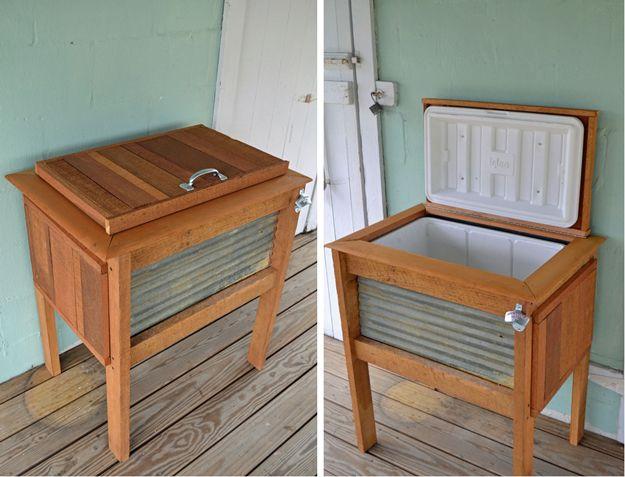Bricolaje Ideas del patio trasero de muebles |