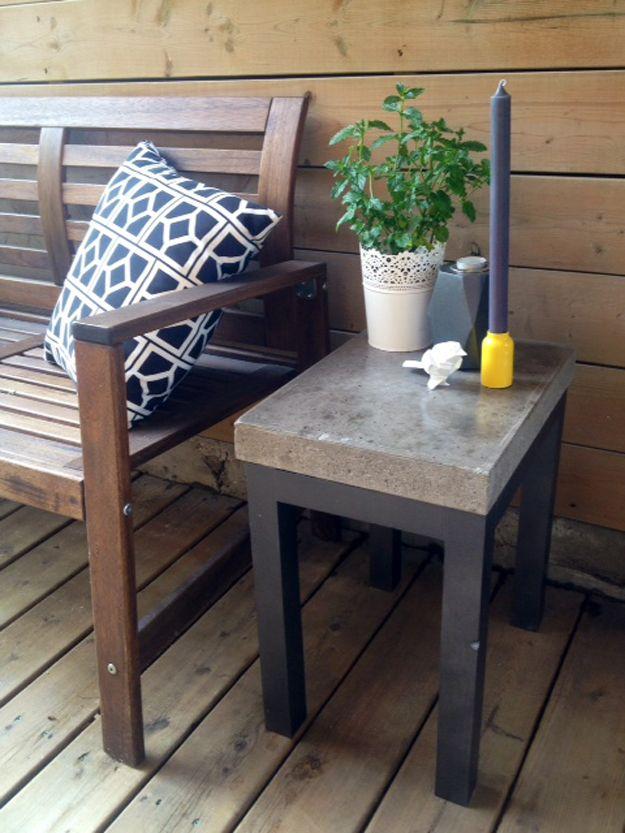 Bricolaje Ideas del patio trasero de muebles | artesaniasdebricolaje.ru/diy-projects-backyard-furniture/