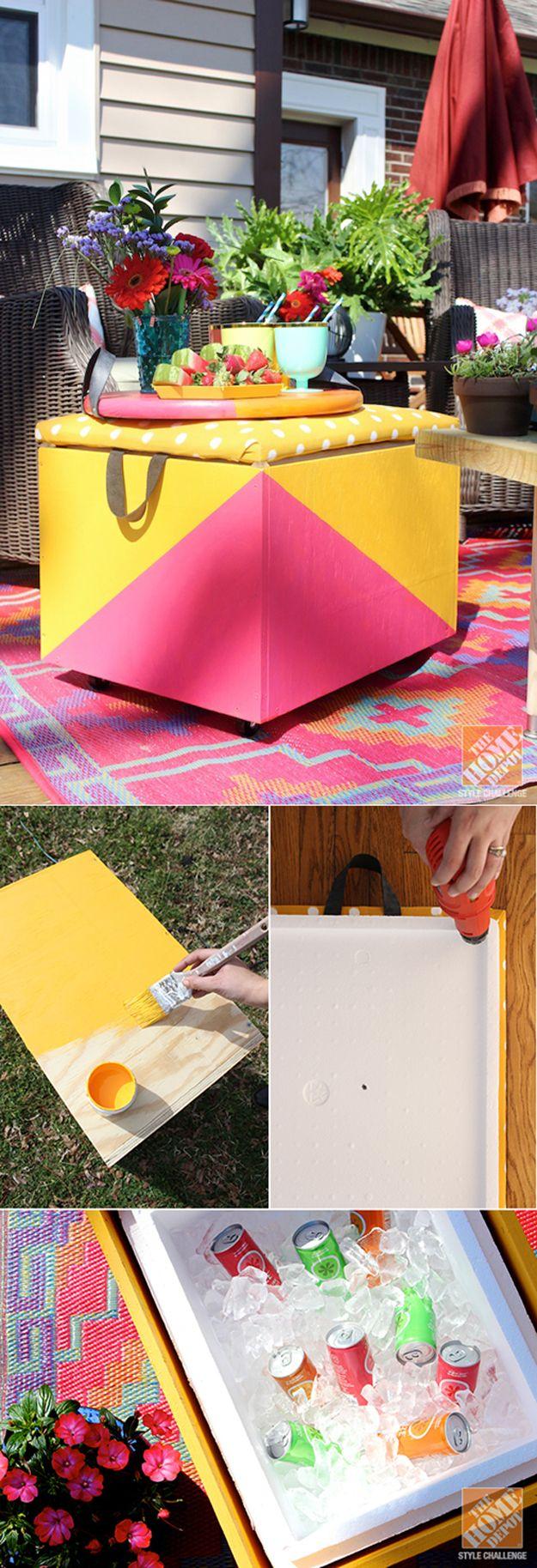 Bricolaje Backyard Tutoriales de muebles | artesaniasdebricolaje.ru/diy-projects-backyard-furniture/