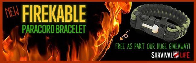 Libre Paracord Pulsera - FireKable por DIYReady