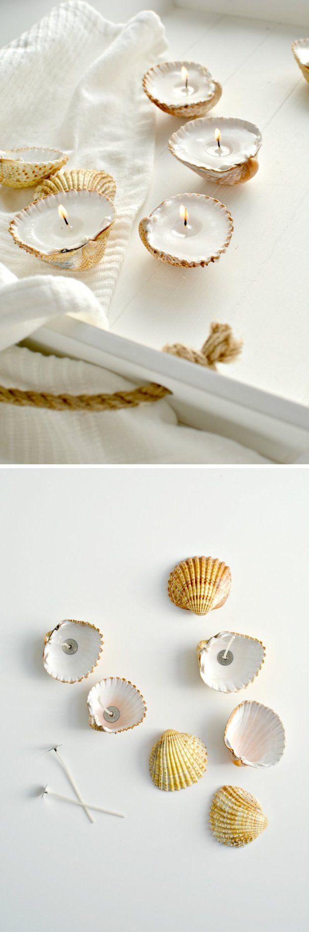 DIY Vela Tutoriales para decoración de baño | http://artesaniasdebricolaje.ru/bathroom-decorating-ideas-on-a-budget/