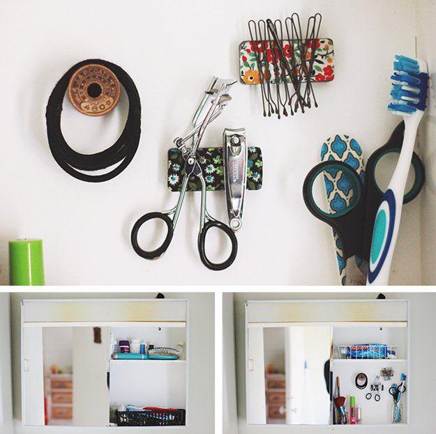 Baño DIY Decoración y Proyectos e Ideas Organización | http://artesaniasdebricolaje.ru/bathroom-decorating-ideas-on-a-budget/