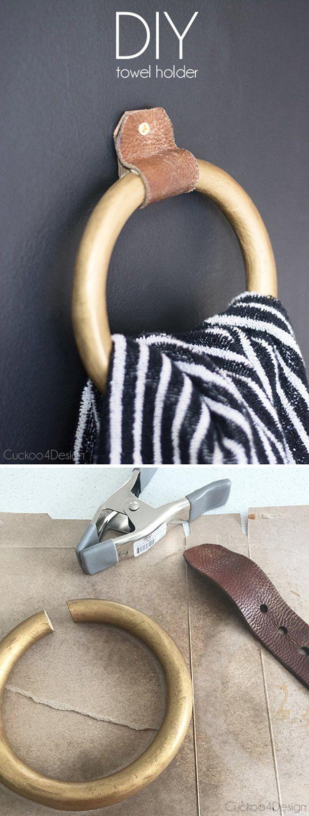 Baño DIY Decoración Tutoriales en un presupuesto | http://artesaniasdebricolaje.ru/bathroom-decorating-ideas-on-a-budget/