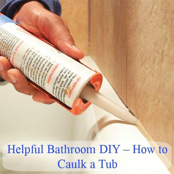 Baño DIY - Cómo Selle una tina