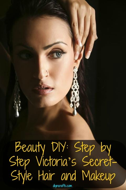 Belleza DIY: Paso a Paso de Victoria Secret-estilo de pelo y maquillaje