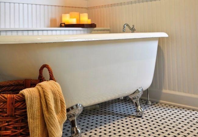 Fotografía - Antes y después: el cuarto de baño una renovación para toda la casa, construido