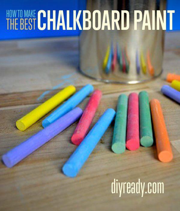 Fotografía - Mejor Pintura Pizarra | Hacer pintura de pizarra en el hogar