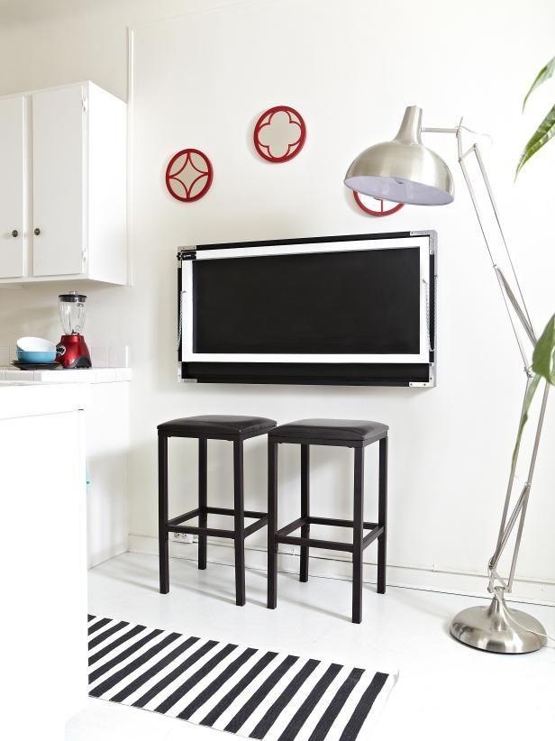 Belleza de flip-Down Kitchen Table