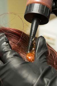Fotografía - Puede colorear mi cabello dañar el cuero cabelludo?