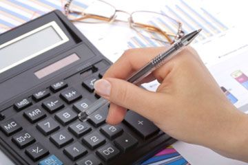 Calculadora con el papeleo