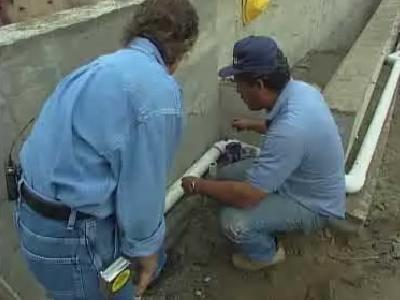 Gimme Shelter: Instalación de tuberías de PVC