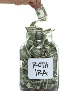 Usted tiene que establecer realmente un Roth IRA con un banco. El enfoque frasco etiquetado no califica.