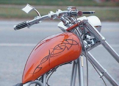 Catálogo de bicicletas: Un Perfil Chopper