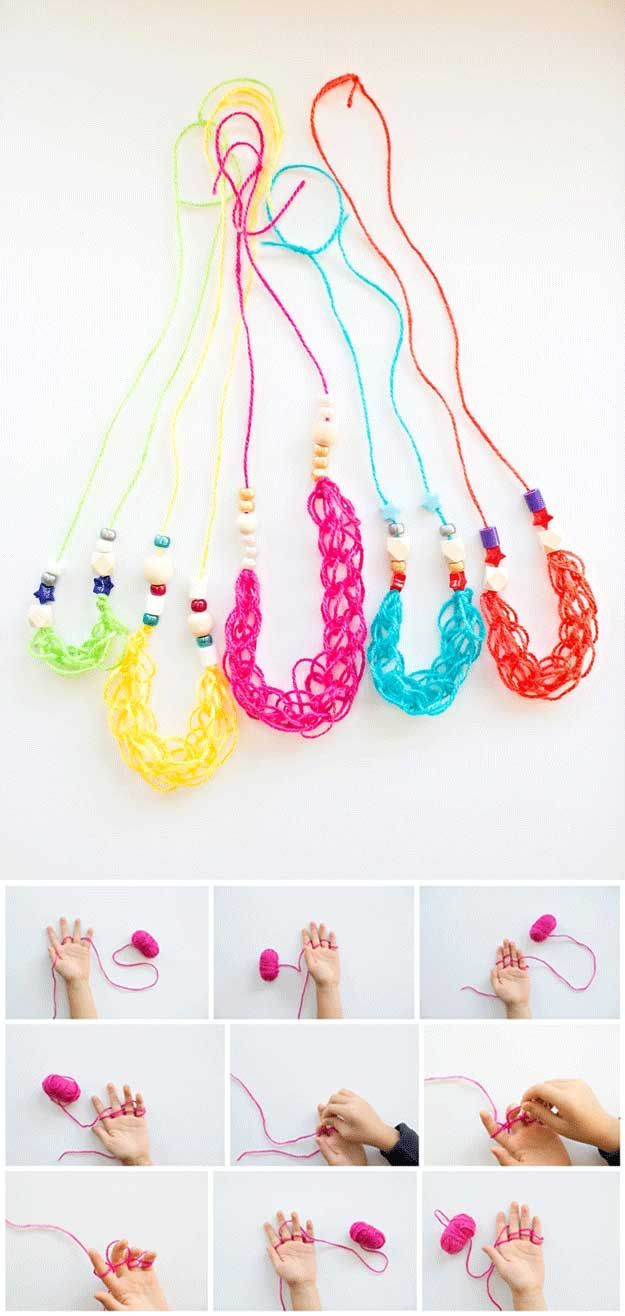 Ideas del arte lindos para niñas   http://artesaniasdebricolaje.ru/cheap-diy-jewelry-projects-for-girls/